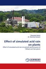 Effect of simulated acid rain on plants