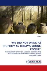 """WE DID NOT DRINK AS STUPIDLY AS TODAY'S YOUNG PEOPLE"""