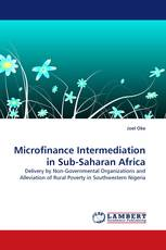 Microfinance Intermediation in Sub-Saharan Africa