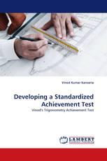Developing a Standardized Achievement Test