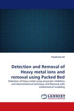 Detection and Removal of Heavy metal ions and removal using Packed Bed