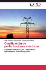Clasificación de perturbaciones eléctricas