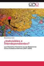 ¿Indivisibles e Interdependientes?