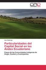 Particularidades del Capital Social en los Andes Ecuatoriano