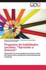"""Programa de habilidades sociales: """"Aprender a Convivir"""""""