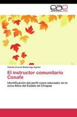 El instructor comunitario Conafe