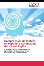 Comprensión  de  lectura  en español y aprendizaje del idioma inglés
