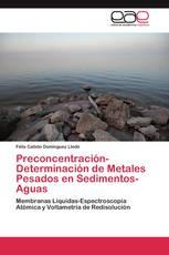 Preconcentración-Determinación de Metales Pesados en Sedimentos-Aguas