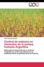 Control de malezas en alamedas de la pampa humeda Argentina