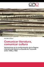 Comunicar literatura, comunicar cultura