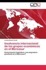 Insolvencia internacional de los grupos económicos en el Mercosur
