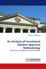 An Analysis of Investment Options Appraisal Methodology