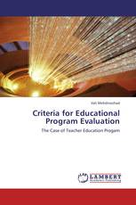 Criteria for Educational Program Evaluation