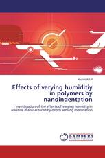 Effects of varying humiditiy in polymers by nanoindentation