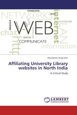 Affiliating University Library websites in North India