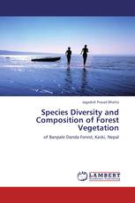 Species Diversity and Composition of Forest Vegetation