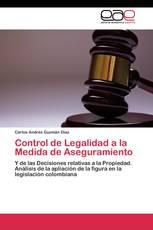 Control de Legalidad a la Medida de Aseguramiento