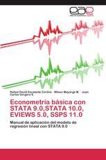 Econometría básica con STATA 9.0,STATA 10.0, EVIEWS 5.0, SSPS 11.0