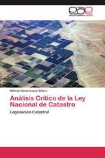 Análisis Crítico de la Ley Nacional de Catastro