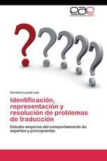 Identificación, representación y resolución de problemas de traducción