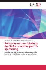 Películas nanocristalinas de GaAs crecidas por rf-sputtering