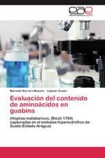 Evaluación del contenido de aminoácidos en guabina