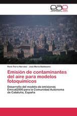 Emisión de contaminantes del aire para modelos fotoquímicos
