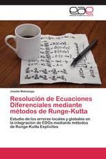 Resolución de Ecuaciones Diferenciales mediante métodos de Runge-Kutta