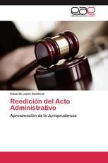 Reedición del Acto Administrativo
