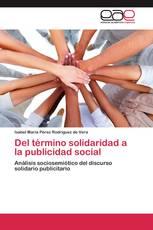 Del término solidaridad a la publicidad social