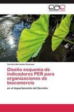 Diseño esquema de indicadores PER para organizaciones de biocomercio