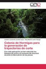 Colonia de Hormigas para la generación de trayectorias de corte