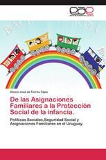 De las Asignaciones Familiares a la Protección Social de la infancia.