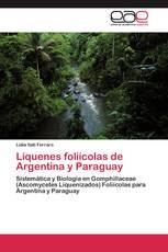 Líquenes foliícolas de Argentina y Paraguay