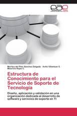 Estructura de Conocimiento para el Servicio de Soporte de Tecnología