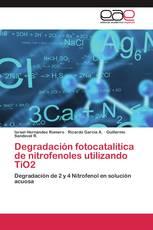 Degradación fotocatalítica de nitrofenoles utilizando TiO2