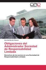 Obligaciones del Administrador Sociedad de Responsabilidad Limitada