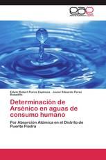 Determinación de Arsénico en aguas de consumo humano