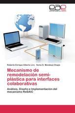 Mecanismo de remodelación semi-plástica para interfaces colaborativas