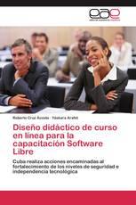 Diseño didáctico de curso en línea para la capacitación Software Libre