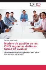 Modelo de gestión en las ONG según las distintas forma de evaluar