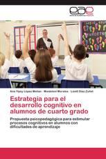 Estrategia para el desarrollo cognitivo en alumnos de cuarto grado