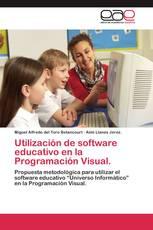 Utilización de software educativo en la Programación Visual.