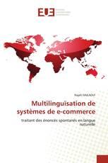 Multilinguïsation de systèmes de   e-commerce