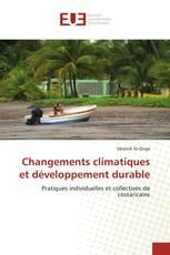 Changements climatiques et développement durable