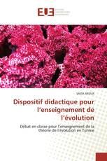 Dispositif didactique pour l''enseignement de l''évolution