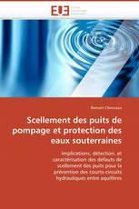 Scellement des puits de pompage et protection des eaux souterraines