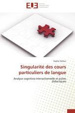 Singularité des cours particuliers de langue