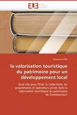 la valorisation touristique du patrimoine pour un développement local