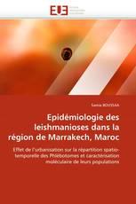 Epidémiologie des leishmanioses dans la région de Marrakech, Maroc